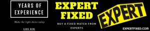 BEST EXPERT FIXED TIPS 1X2